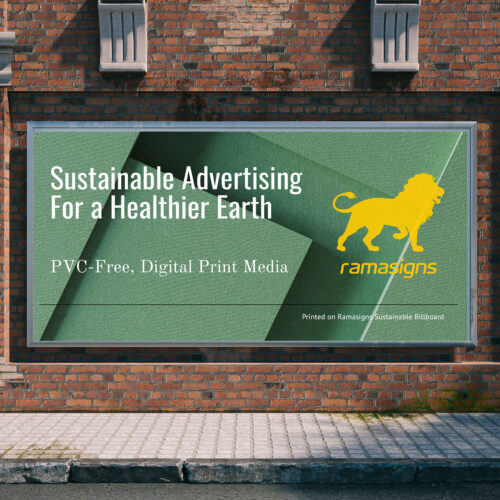 Sustainable Billboard™ Backlit Applications