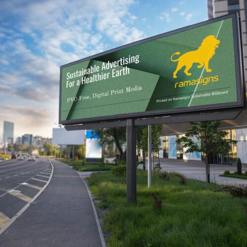 Sustainable Billboard™ Frontlit Applications