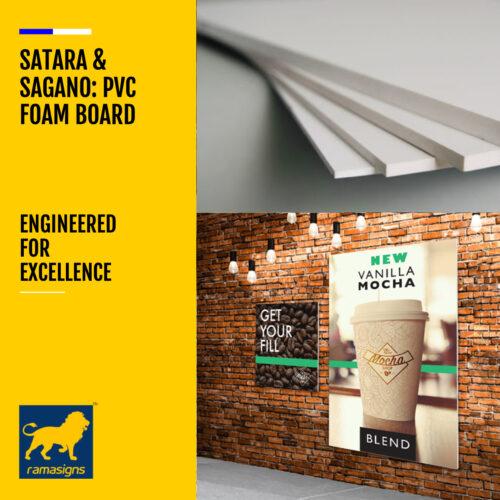 SATARA™ & SAGANO™ PVC FOAM BOARD & CELUKA BOARD