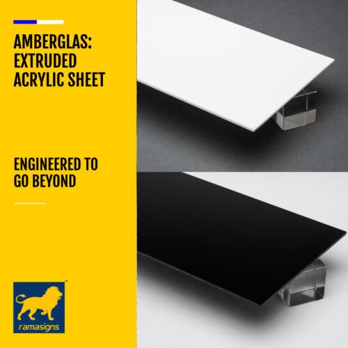 AMBERGLAS™ EXTRUDED ACRYLIC SHEETS